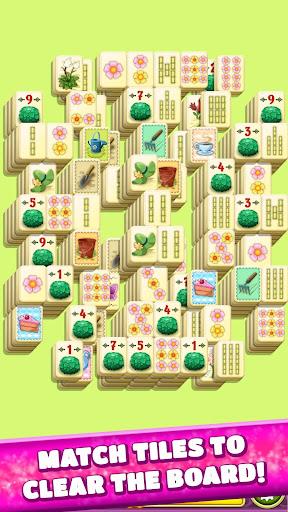 Mahjong Spring Flower Garden screenshots 1