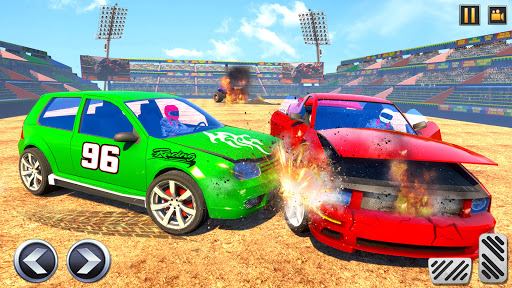 Real Car Demolition Derby Crash Stunts  screenshots 1