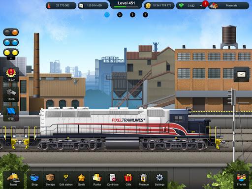 Train Station: Railroad Transport Line Simulator Apkfinish screenshots 10