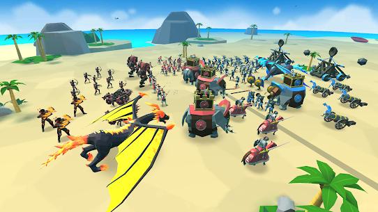 Baixe o Mod Apk do Epic Battle Simulator 2 3