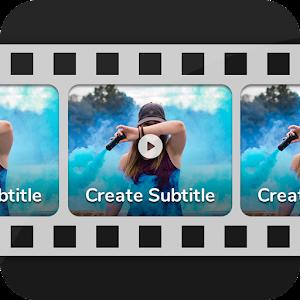 Video Subtitle Maker 1.2.1 by DG Info App logo