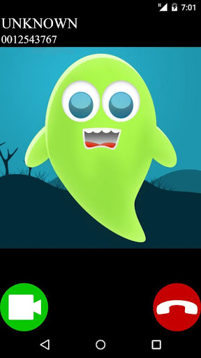 ghost fake video call game apklade screenshots 2