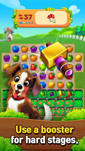 Fruits Farm: Sweet Match 3 games 1.1.0 screenshots 12