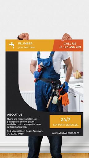 Flyers, Poster Maker, Graphic Design, Banner Maker 51.0 Screenshots 1