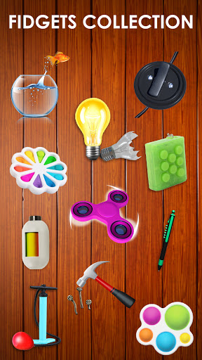Fidget Toys 3D - Fidget Cube, AntiStress & Calm android2mod screenshots 4