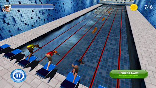 Swimming Race 3D  screenshots 1