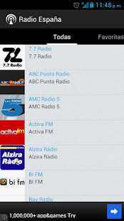 Radio Spain Screenshot