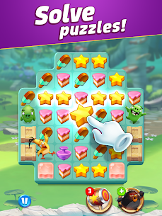 Angry Birds Match 3 MOD APK 5.1.0 (Money, Lives, Boosters) 11