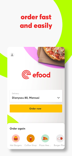 efood delivery 4.7.1 Screenshots 1