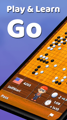 Go - Learn & Play - Baduk Pop (Tsumego/Weiqi Game) screenshots 1
