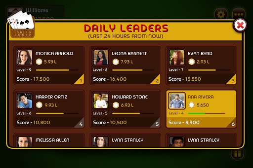 Do Teen Panch (2 3 5) - Indian Poker 3.1.3 screenshots 6