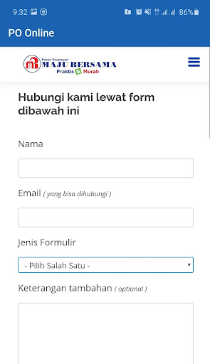 PO Online Maju Bersama [ Supplier ] 2.3.9 screenshots 7