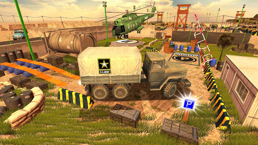 US Army Truck Pro:Army Transport modavailable screenshots 1