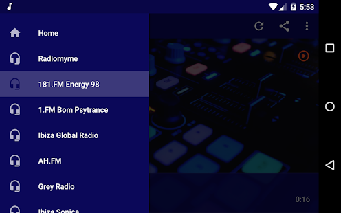 Live Electro Radio - Trance, Techno Music! Screenshot