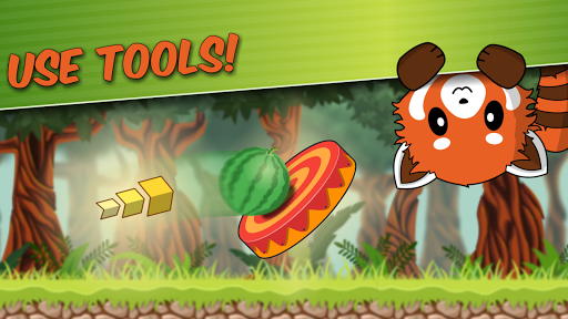 Red Panda: Casual Slingshot & Animal Logic Game  screenshots 3