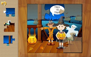 Toddler Games - Halloween Family Puzzle Kids ❤️