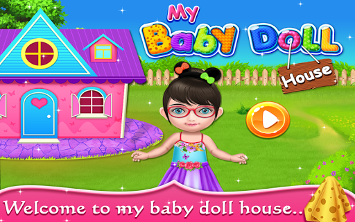 My Baby Doll House - Tea Party & Cleaning Game screenshots 5
