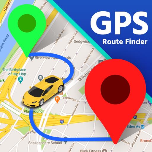 Ukuhamba kwemephu ye-GPS