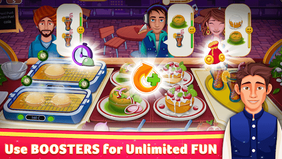 Indian Cooking Star: Chef Restaurant Cooking Games Mod Apk