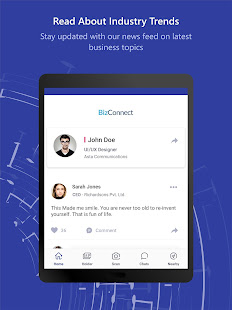 BizConnect- Business Card Scanner & Card Reader
