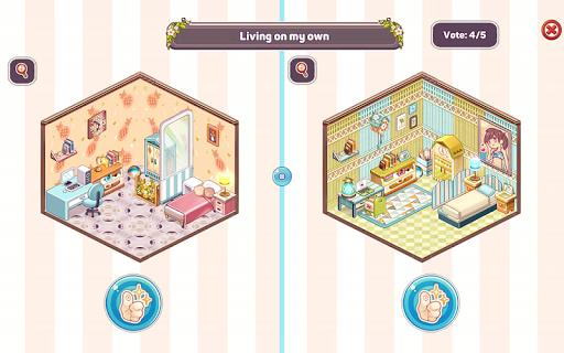 Kawaii Home Design - Decor & Fashion Game  Screenshots 20