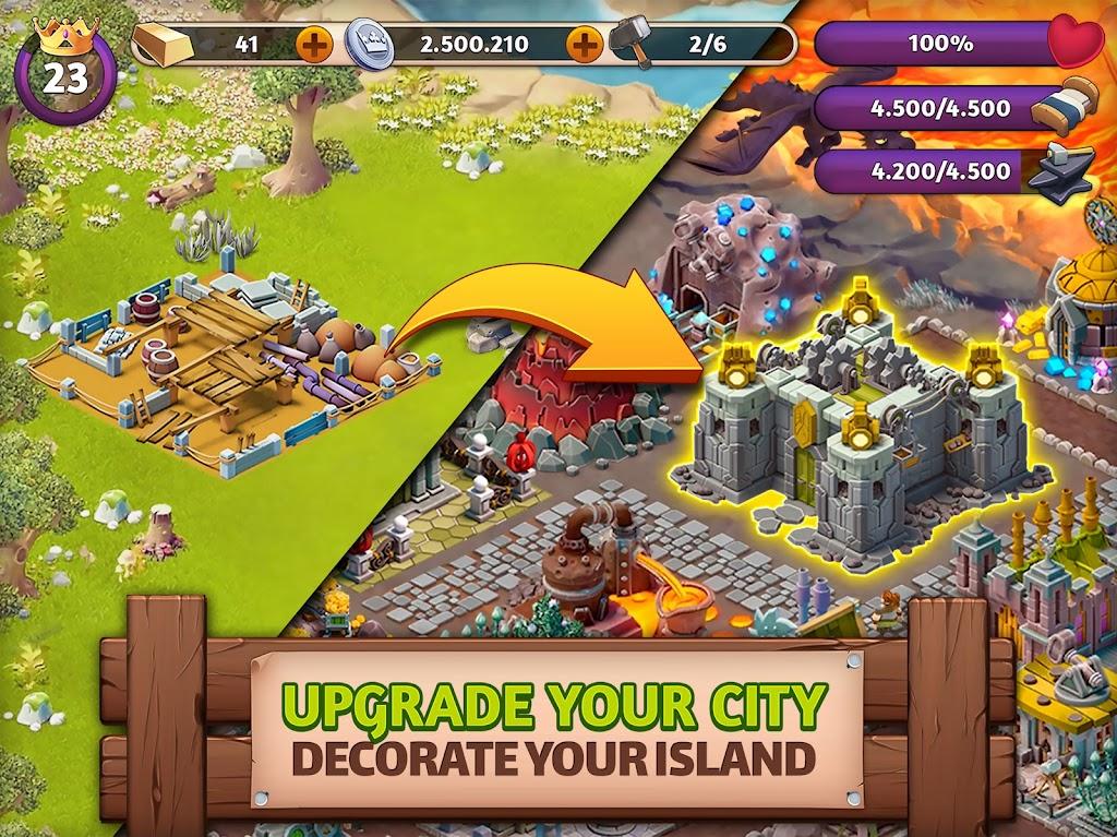 Fantasy Island Sim: Fun Forest Adventure  poster 9