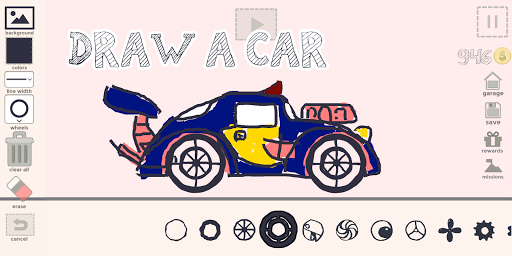 Draw Your Car - Create Build and Make Your Own Car 1.9 screenshots 1