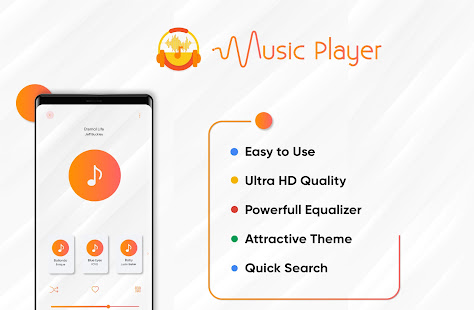 music player: free music mp3 audio, play-it.