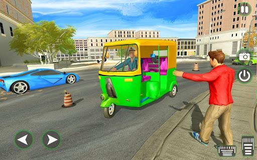 Auto Tuk Tuk Rickshaw Driving Simulation Free Game  screenshots 1