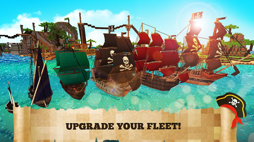 Pirate Crafts Cube Exploration 1.25-minApi23 Screenshots 9