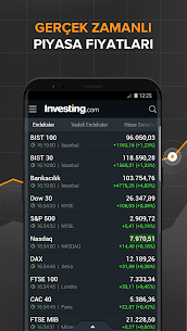 Investing: Borsa, Döviz, Hisse, Portföy & Haberler 1