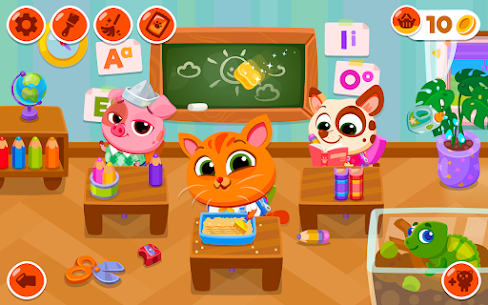 Bubbu School – My Cute Animals Mod Apk (Unlimited Money + Unlocked) 1.05 7