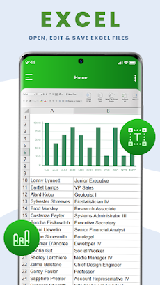 All Document Reader - PDF, Word, Excel, Officeのおすすめ画像3