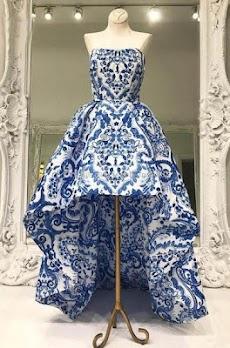 モダンなイブニングドレスのデザインのおすすめ画像3