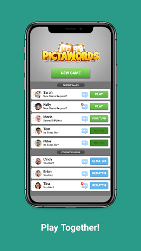Pictawords - Crossword Puzzle apkslow screenshots 3