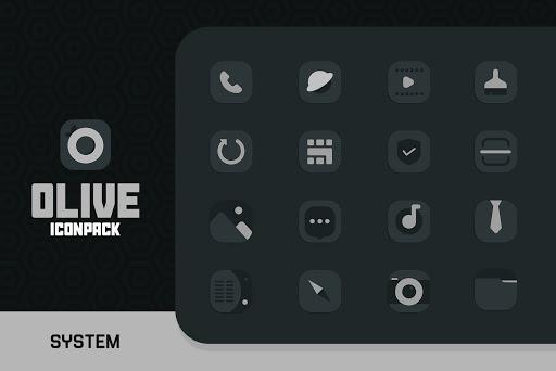 Download APK: Olive Icon pack v1.1 [Patched]