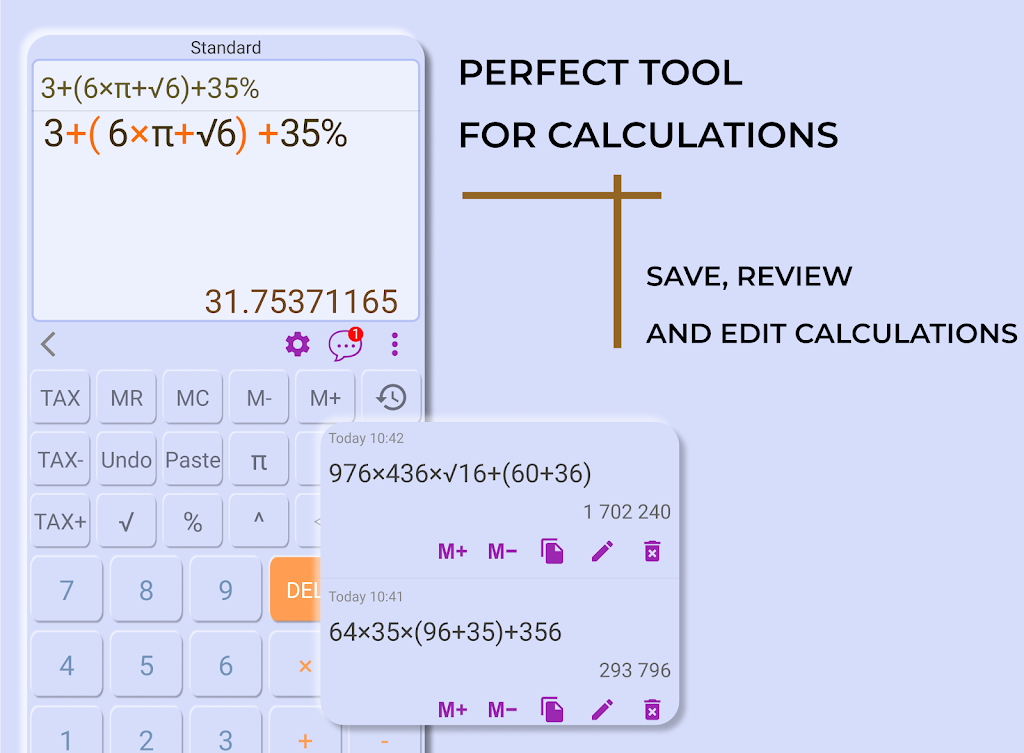 HiEdu Scientific Calculator Pro poster 1