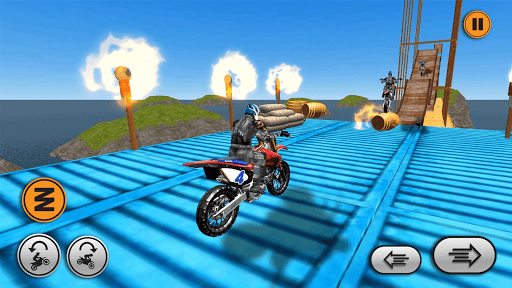 Xtreme trail: 3D Racing - Offline Dirt Bike Stunts android2mod screenshots 6