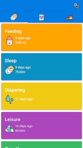 Baby Feeding Tracker - Newborn Feeding and Care 0.0.20 Screenshots 1