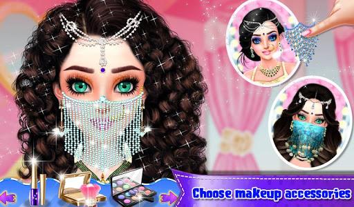 Beautiful Belly Dancer Girl Salon : Dressup Games  screenshots 12
