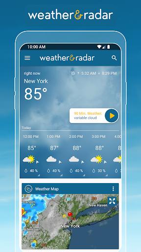 Weather & Radar USA - Severe weather alerts 2020.21.2 screenshots 1