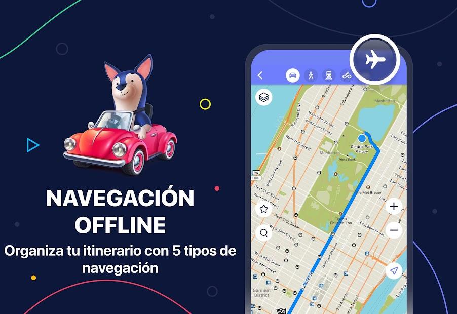 Captura 2 de MAPS.ME – Mapas sin conexión, navegación GPS para android