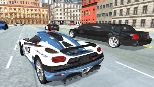 police car simulator - cop chase screenshot 2