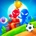 Stickman Party: 1 2 3 4 Παιχνίδια παικτών δωρεάν