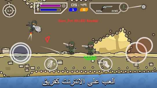 تحميل لعبة Mini Militia – Doodle Army 2 مهكرة للاندرويد [آخر اصدار] 2