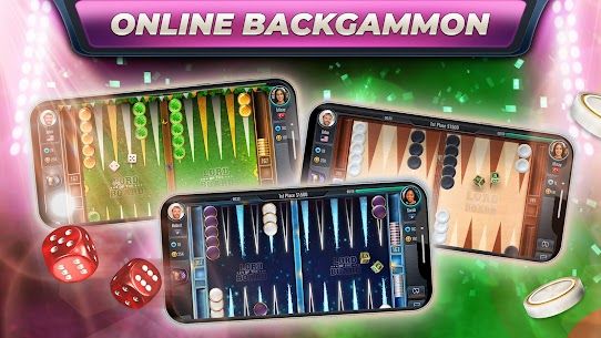 Backgammon – Lord of the Board 1