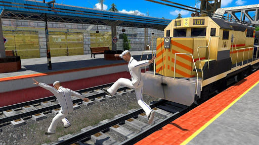 Indian Police Train Simulator apkdebit screenshots 6