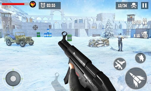 Anti-Terrorist Shooting Mission 2021 Mod Apk (Dumb Enemy) 6