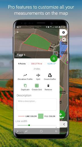 Measure Map Lite android2mod screenshots 4