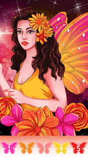 Fairytale coloring book-Free paint by number